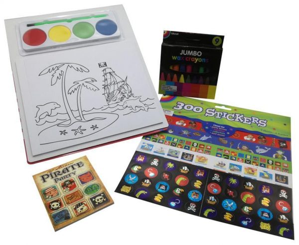 Boys Pirate Book Stationery Gift Pack 2
