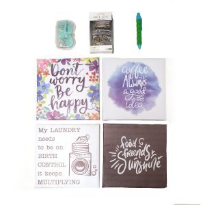 motivational wall pictures & Stationery Set - Home