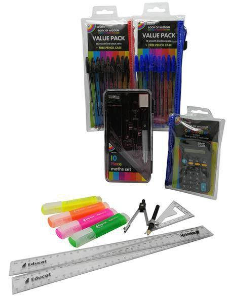 Grade 7 Stationery pack 1