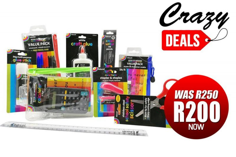 student stationery pack